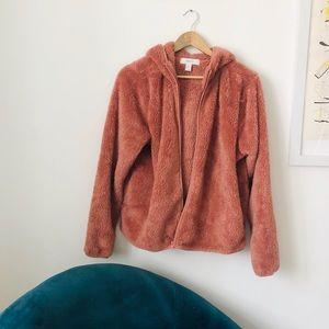 Fluffy F21 jacket